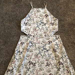 Garage floral white dress
